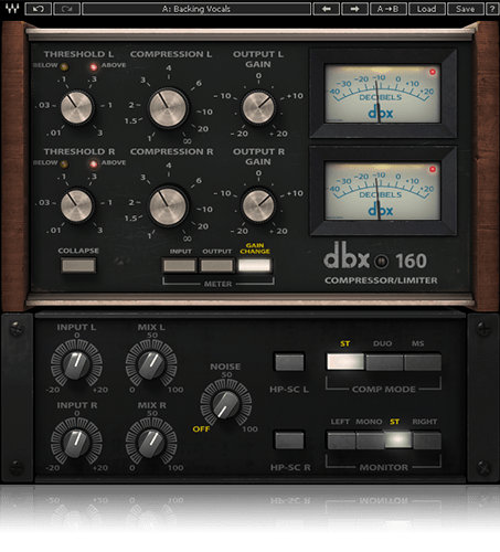 Waves dbx 160 Compressor Plug-In