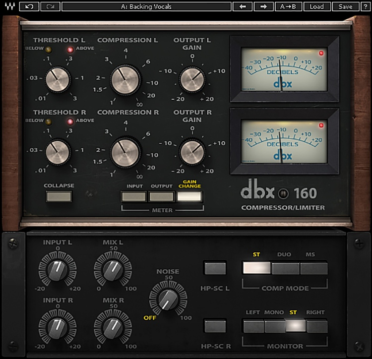 Waves dbx 160 Plug In—Studio and Live