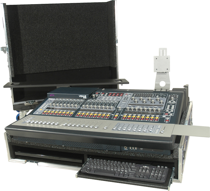 Tour 2 Series Bull Nose Style Mixer Case