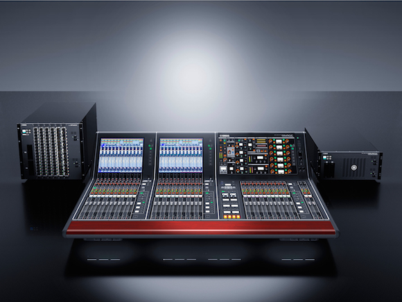 Yamaha Rivage PM10 Hits AES.. and the Road