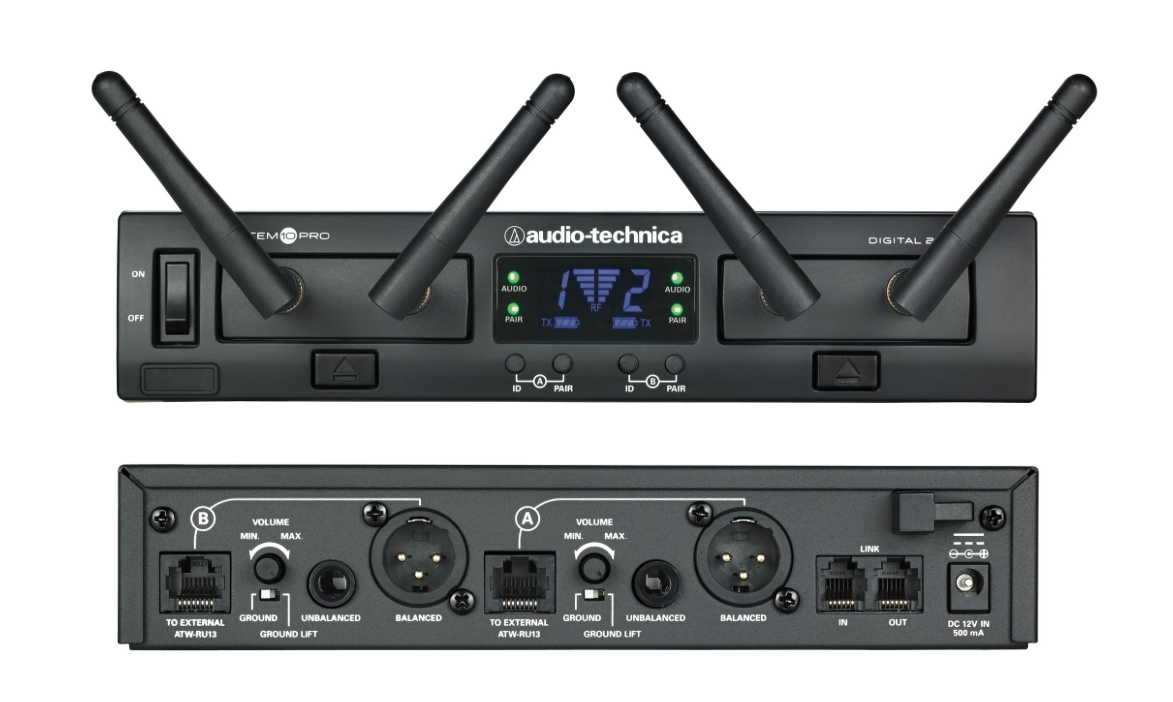 Audio-Technica System 10 PRO Rack-Mount Digital Wireless System