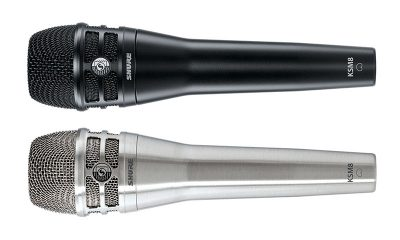 Road Test: Shure KSM8 Dualdyne Dynamic Handheld Vocal Mic