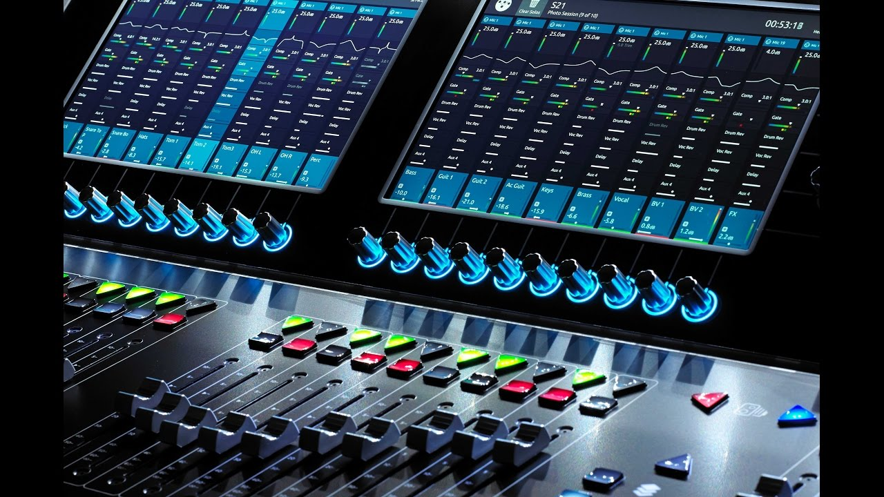 Road Test: Digico S21 Digital Mixing Console
