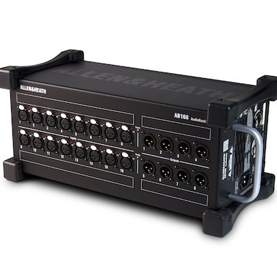 Allen & Heath's New Portable Audio Rack