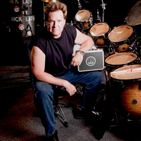 NEWS: Drummer Rick Latham Gets Groovy with HARMAN's AKG Drum Set Groove Pack