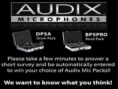 Audix Holiday Mic Pack Giveaway