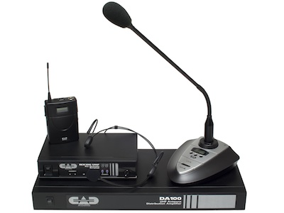 CAD Audio Ships UHF WX100 Series Wireless