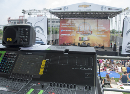 Nashville's Riverfront Park Stage Stocked with NEXO STM, Yamaha CLs for the 42nd Annual CMA Music Festival