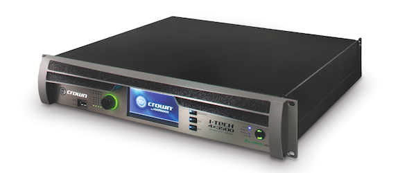 Crown's New I-Tech HD Series 4-channel Power Amp
