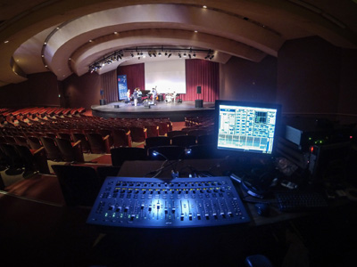 Avid S3L Delivers at Stanford Jazz Festival