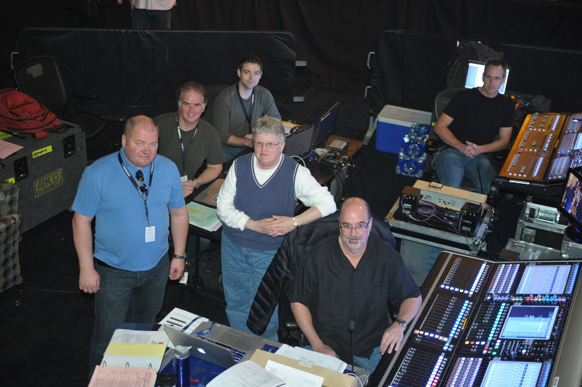 ATK Goes With DiGiCo and Optocore for 2012 Grammys