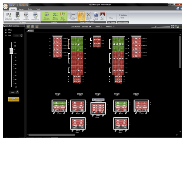 PLASA NEWS: JBL Unveils HiQnet Performance Manager Software