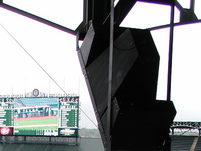 Rangers Ballpark Upgraded with JBL Loudspeakers
