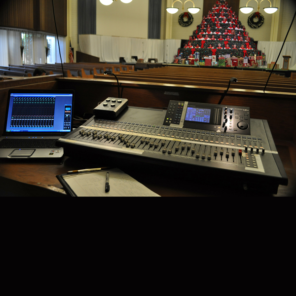 NEWS: Yamaha LS9 Digital Console Breathes New Life into Living Christmas Tree