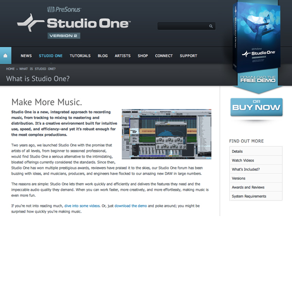 RELEASED: PreSonus Announces Studio One 2 During a Zombie Attack!