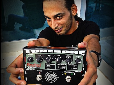 Anis Jouini Takes Tonebone on tour with W.A.S.P.