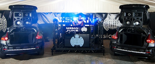 Nissan and Ministry of Sound Introduced The Juke Box