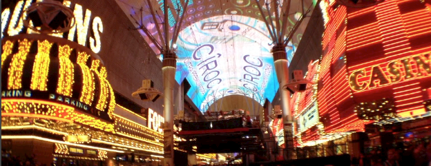 NYE 2013 On Fremont Street in Las Vegas