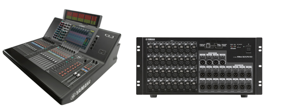 Yamaha cl1 mixing console sound pro live for Yamaha live console