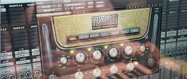 Darth Fader on the Waves Manny Marroquin Plug-in Bundle