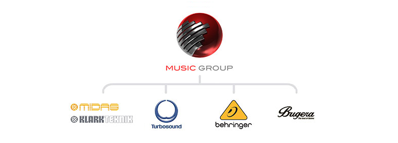 First Midas, now Turbosound—Two Legacy British Pro Audio Brands Now Owned by The Music Group.