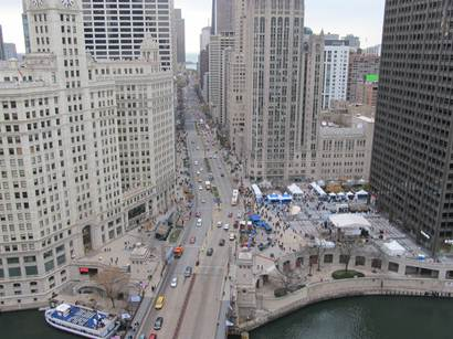 OSA and Axient Light Up Chicago's Magnificent Mile