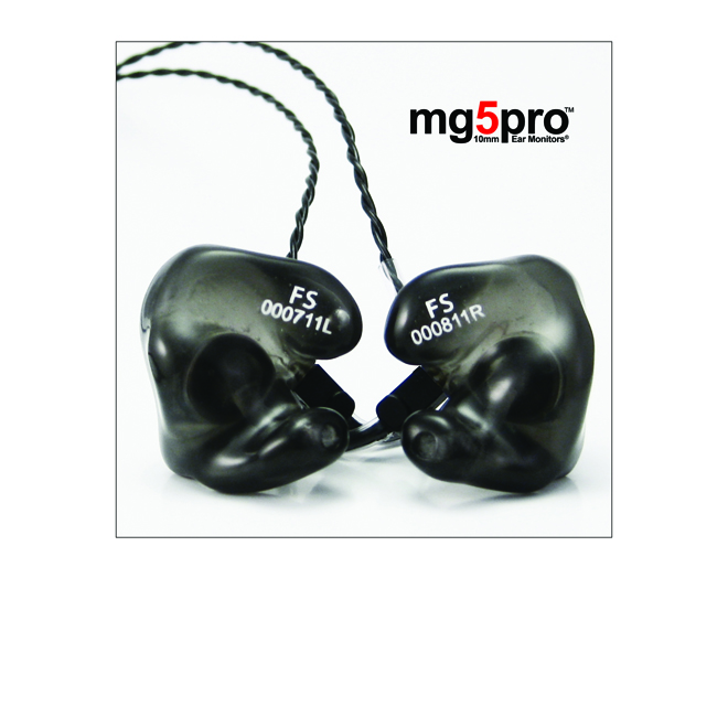NEW RELEASE: Future Sonics mg5pro Ear Monitors