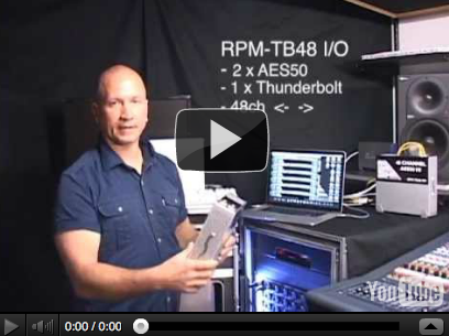The RPM-TB48 I/O – Portable & Affordable Midas 96K Recording and Plug-In Integration