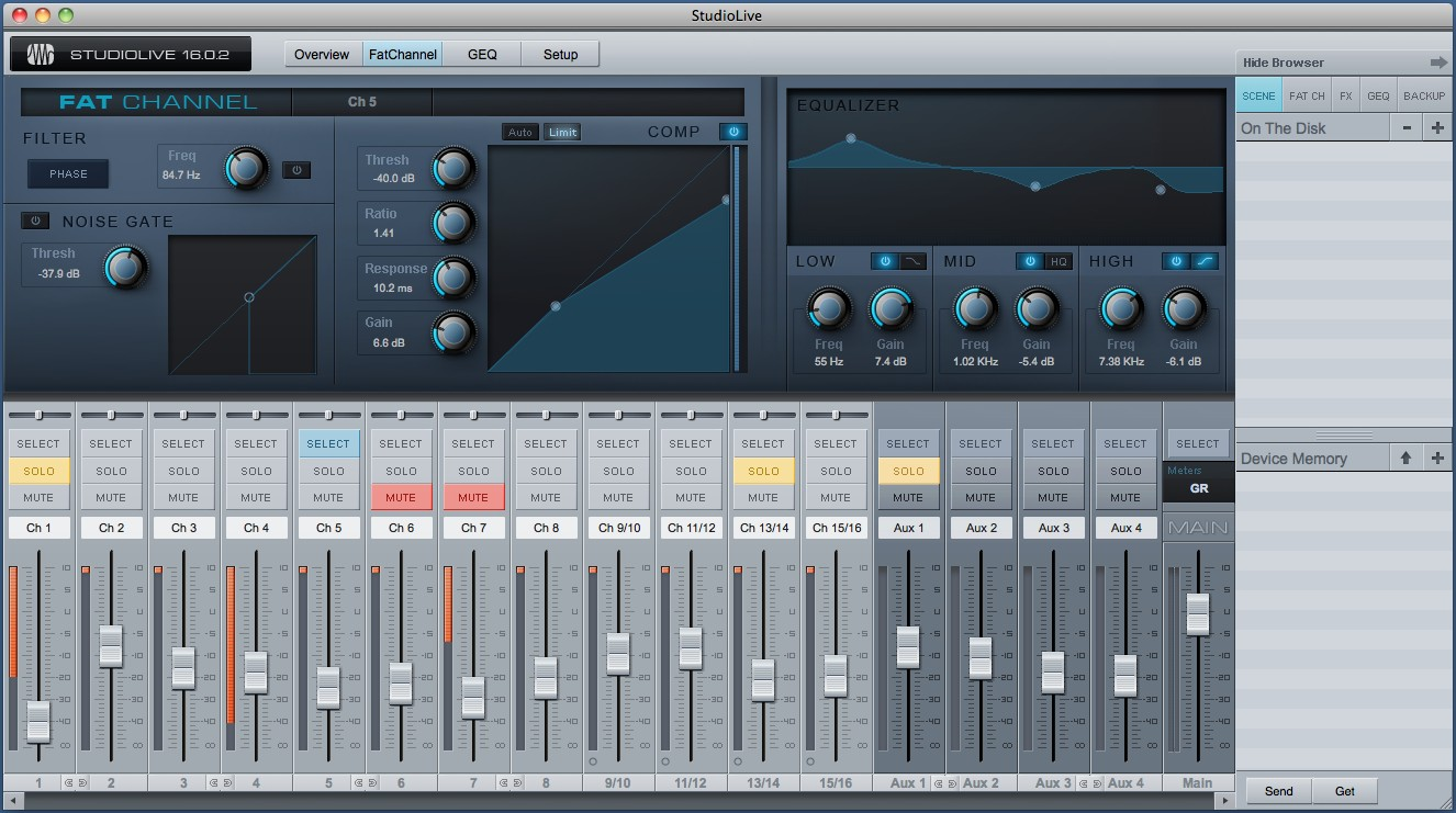 RELEASED: PreSonus Enhances StudioLive Mixers, More with Universal Control 1.5.2