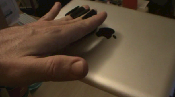 Cool Tools: The HANDeBand iPad/Smartphone/Tablet Finger Holder Thing