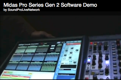 VIDEO DEMO: Midas Gen 2 Software For Pro Series COnsoles
